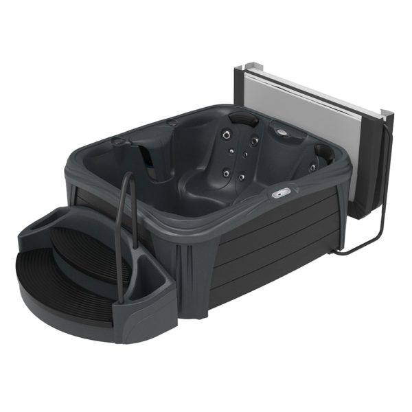 Rectangle Midnight Sparkle Hot Tub from the Splash Collection