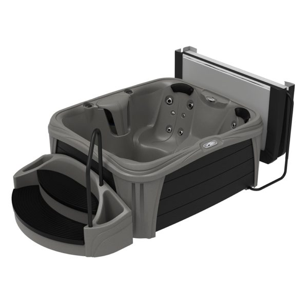 Rectangle Mystic Sparkle Hot Tub from the Splash Collection