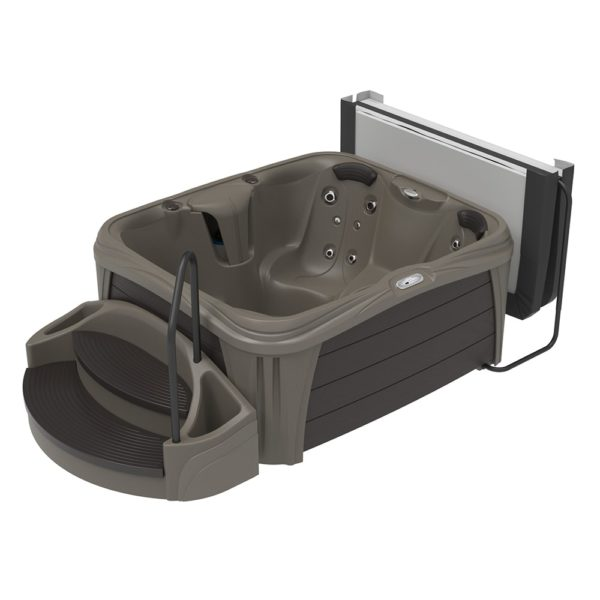 Rectangle Tucsan Sparkle Hot Tub from the Splash Collection