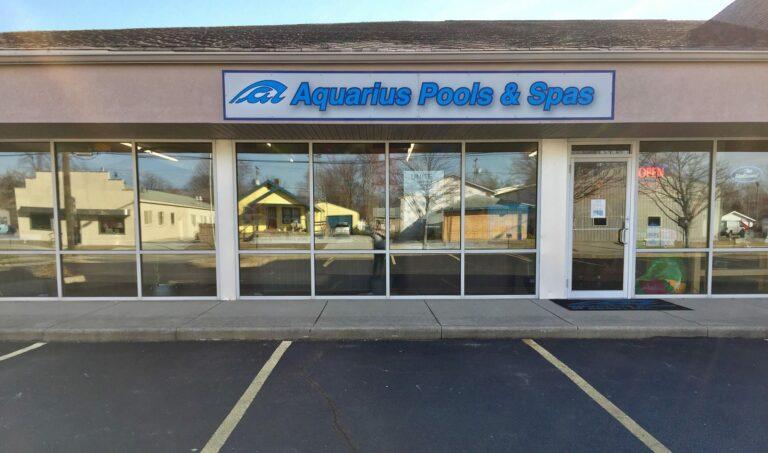 Aquarius pools and spas location in Lafayette