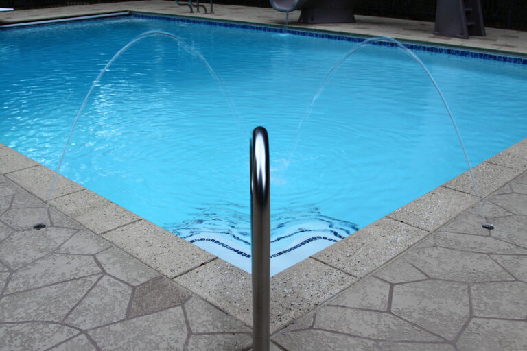 in ground swimming pool installation in Lafayette