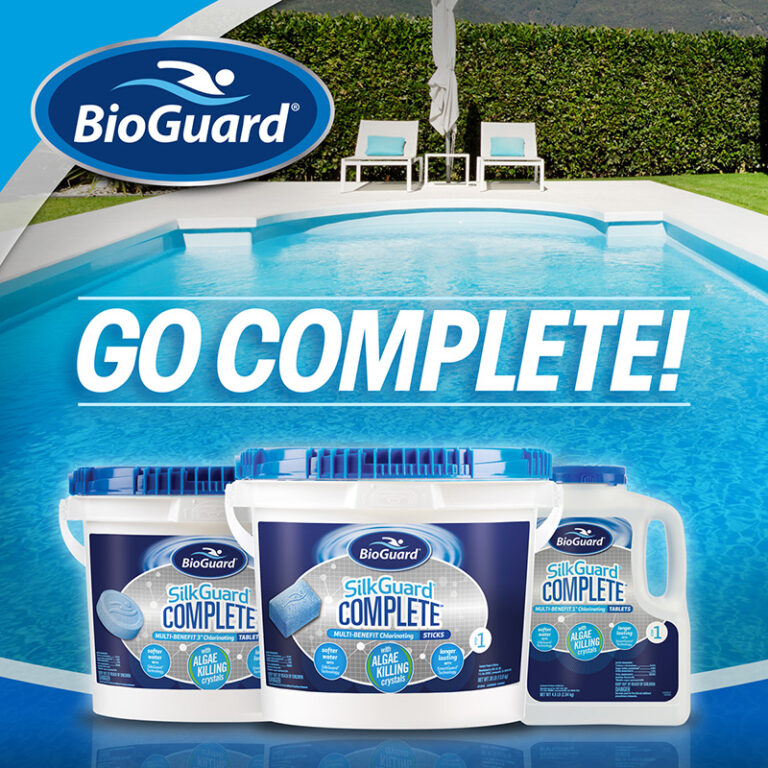 BioGuard go Complete pool products