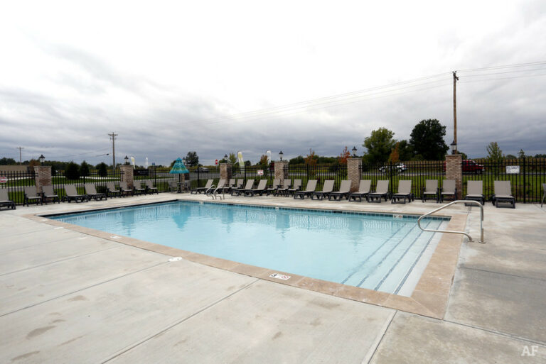 Aquarius Pools and spas commercial pool in Indiana